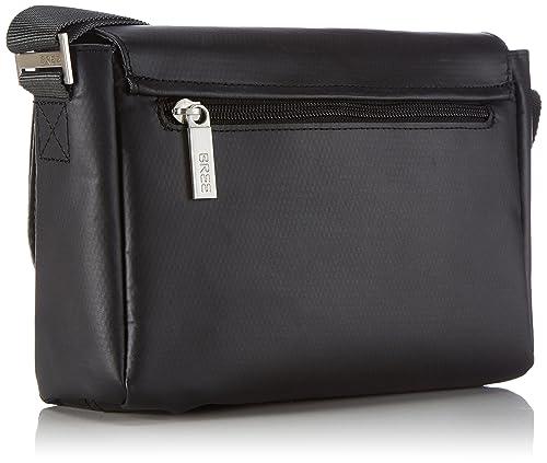 Bree Punch 701, Black, Cross Shoulder S, Unisex Adults Hobos and Shoulder Bag Bree