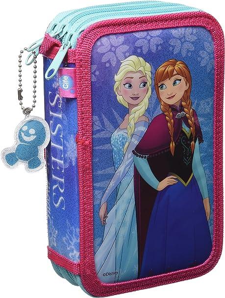 Disney Frozen - Estuche 3 Pisos (Cife 86968): Amazon.es: Juguetes y juegos