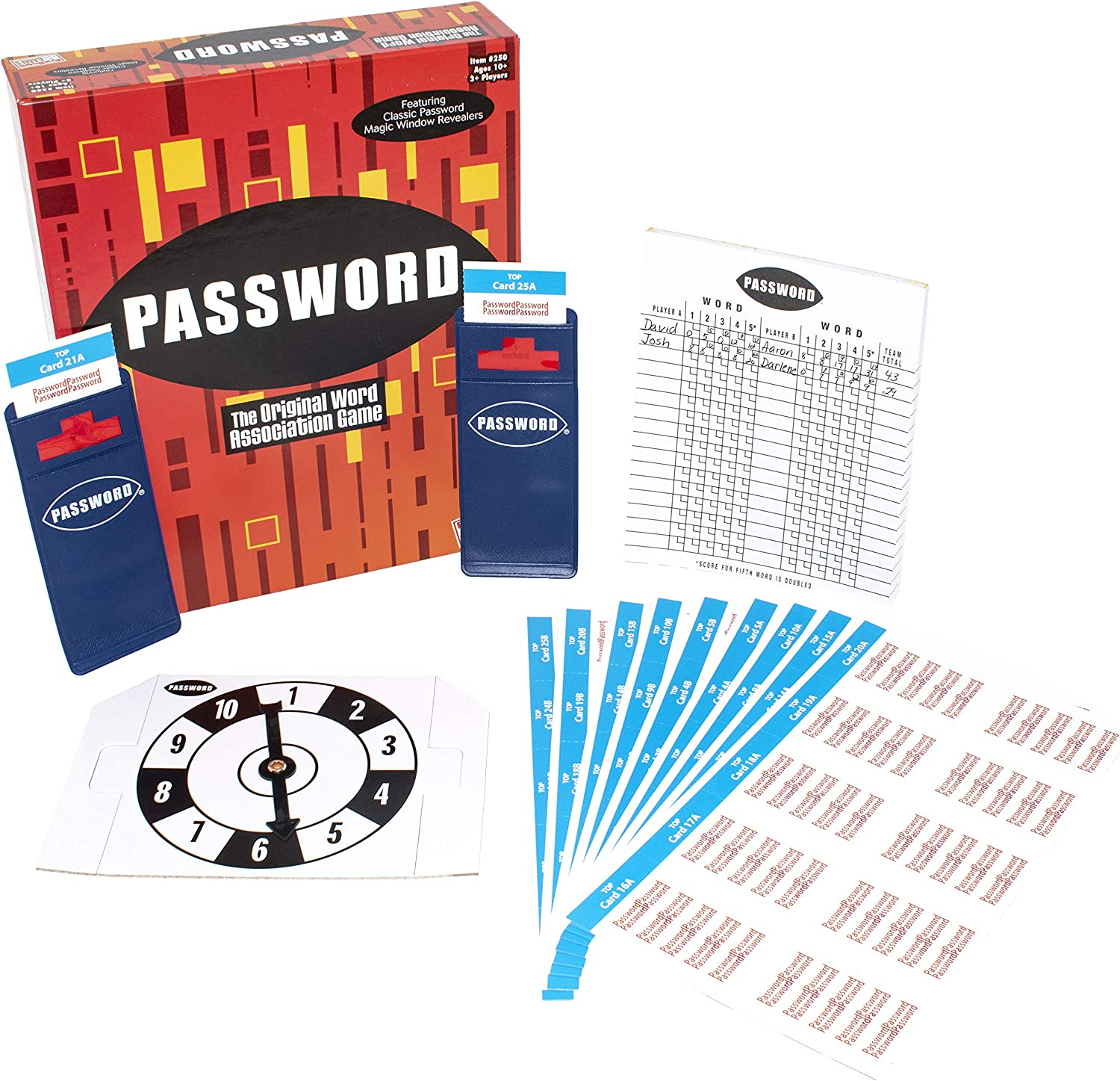 Classic Password Game Based Off The Original 60s Gameshow One Word Clue Johnson Smith Co