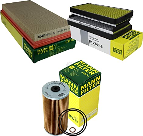 Mann Filter Inspektions Set Inspektionspaket Innenraumfilter Luftfilter Ölfilter Auto