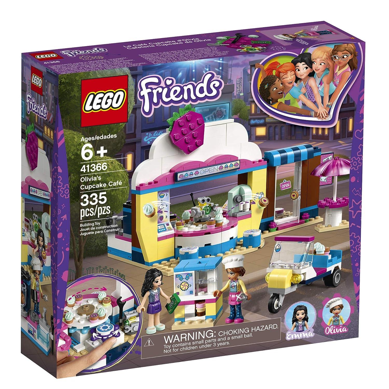 Amazoncom Lego Friends Olivias Cupcake Café 41366 Building Kit
