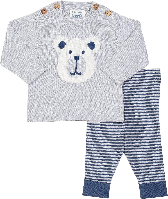 Kite Baby Beary Knit Set Newborn-24 Months Organic