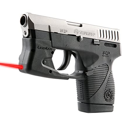 LaserLyte Laser Sight Trainer with Push Button Activation, Auto-Off Feature  and Ambidextrous Operation for Competition, Defensive Shooting and CCW