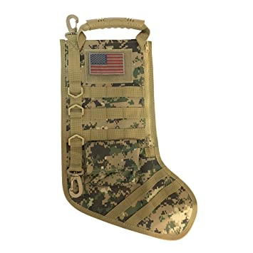 Tactical Christmas Stocking.Tactical Christmas Stocking With Molle Gear New Multicam