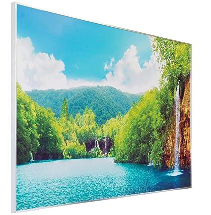 Calefacción por infrarrojos de calefacción 900 W – Calefactor de infrarrojos eléctrico Radiador infraro TPro®