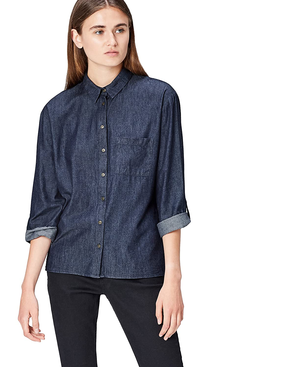 Marca Amazon - find. Blusa Mujer