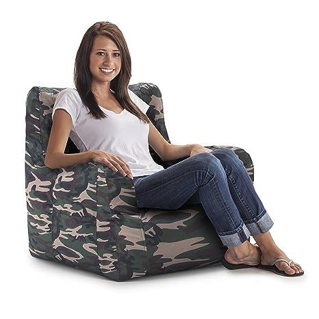 Fantastic Big Joe Duo Chair Camo Spiritservingveterans Wood Chair Design Ideas Spiritservingveteransorg
