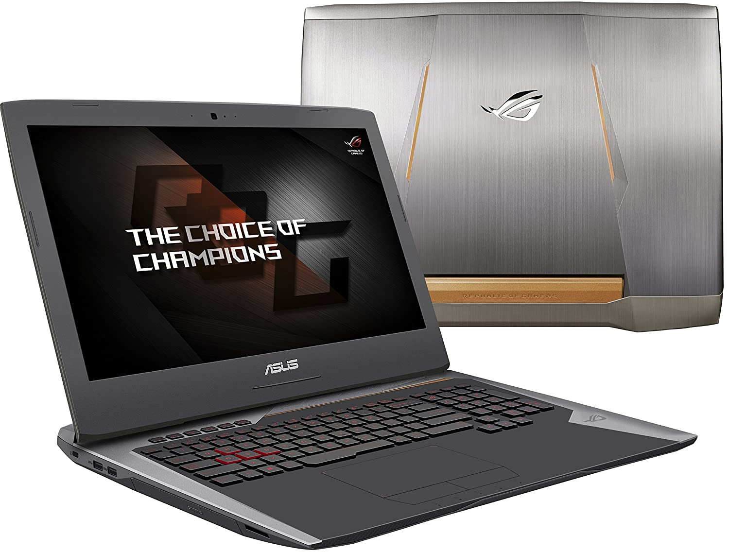 ASUS ROG G752VY-DH72 17-Inch Gaming Laptop