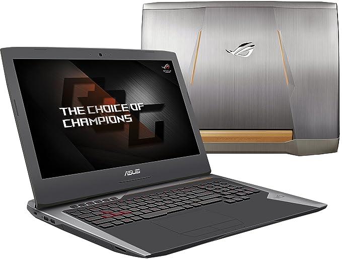 Amazon.com: ASUS ROG G752VY-DH78K 17-Inch Gaming Laptop, Overclocked CPU i7-6820HK, Nvidia GeForce GTX 980M 8 GB VRAM, 64 GB DDR4, 1 TB, 512 GB NVMe SSD: ...