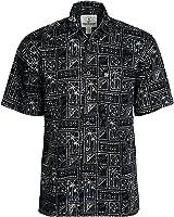 Artisan Outfitters Mens Outer Banks Batik Cotton Hawaiian Shirt