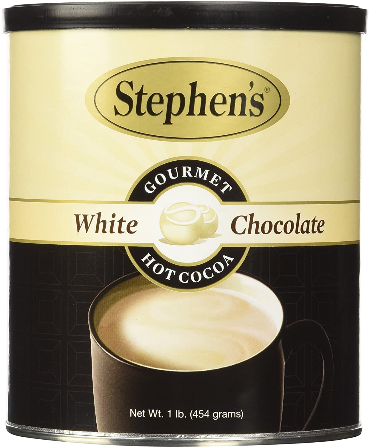 Amazon.com : Stephen's Gourmet Hot Cocoa, White Chocolate, 16 ...