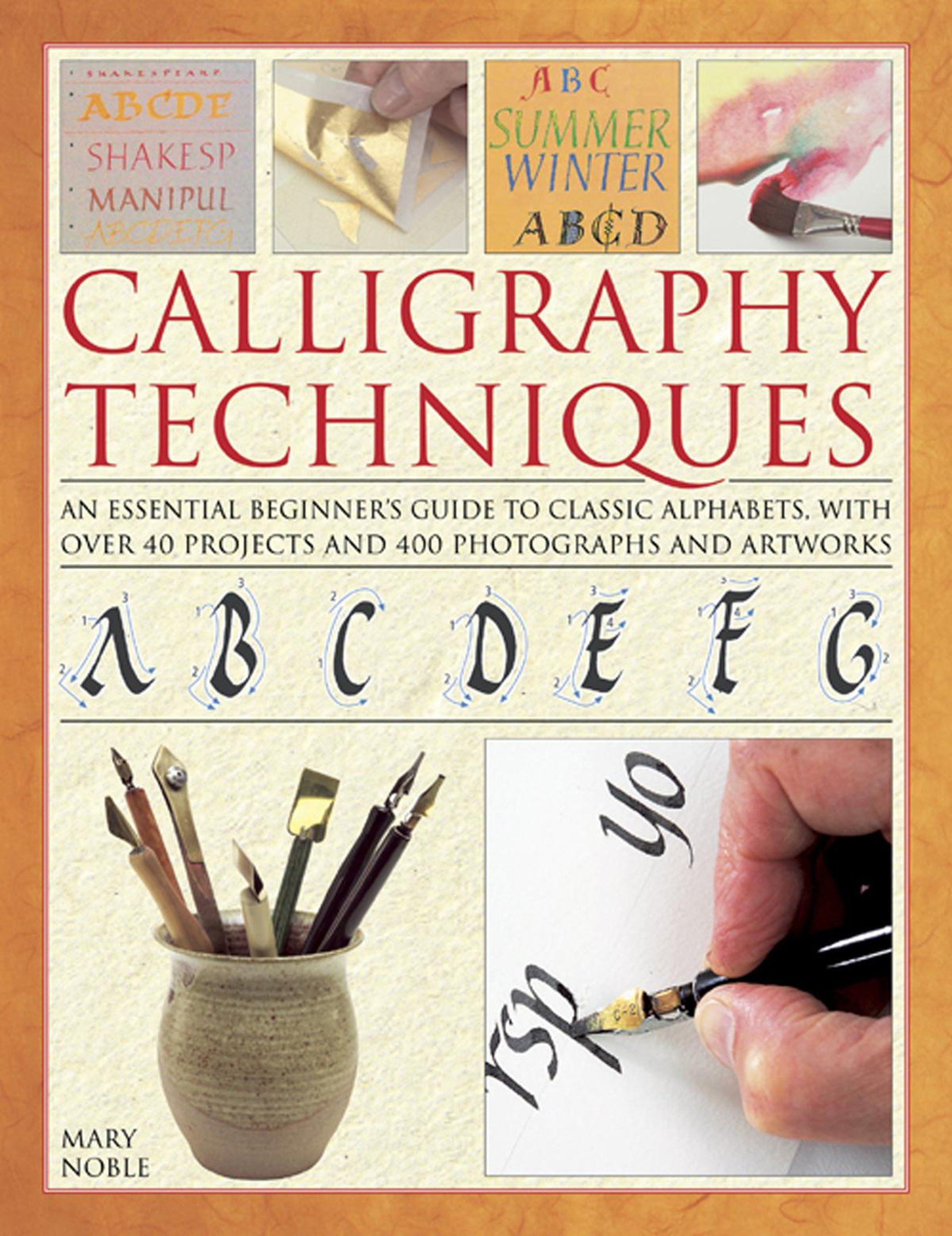 Calligraphy Techniques: An essential beginner's guide to classic alphabets, with over 40 projects and 400 photographs and artworks Text fb2 ebook