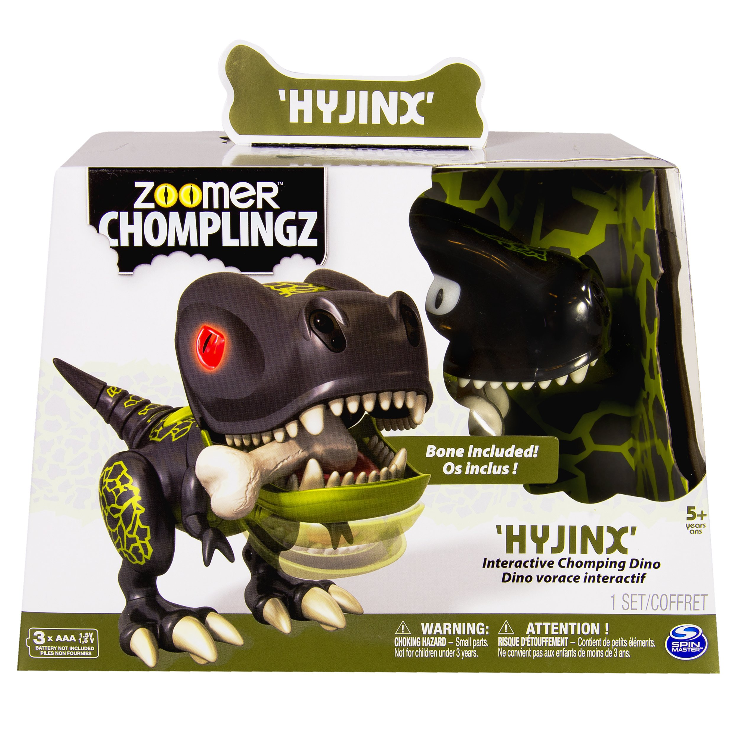 Zoomer Chomplingz - Hyjinx Interactive Dinosaur by Zoomer (Image #2)
