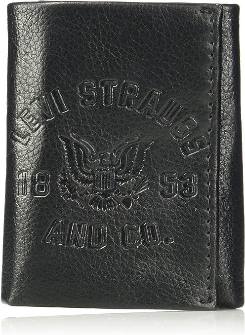 Black,Style 1809 Men/'s 12 loop Genuine Leather Key case