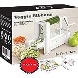 Tri-Blade Vegetable Spiralizer/Spiral Vegetable, Veggie Pasta Maker Carb/Paleo/ gluten/raw Vegan/Zucchini Pasta