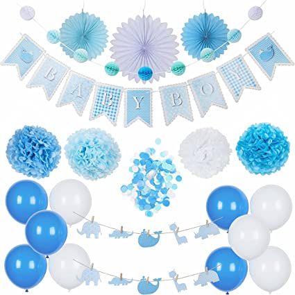Amazon Com Baby Shower Decorations It S A Boy Baby Boy Party Supplies Set Blue White Hanging Banner Balloons Honeycomb Garland Paper Fans Pom Poms Confetti Animal Theme,Dont Buy A House In 2017