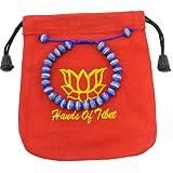 Amazon Price History for:Tibetan Mala Embedded Medicine Wrist Mala for Meditation Handmade Draw String Silk Pouch