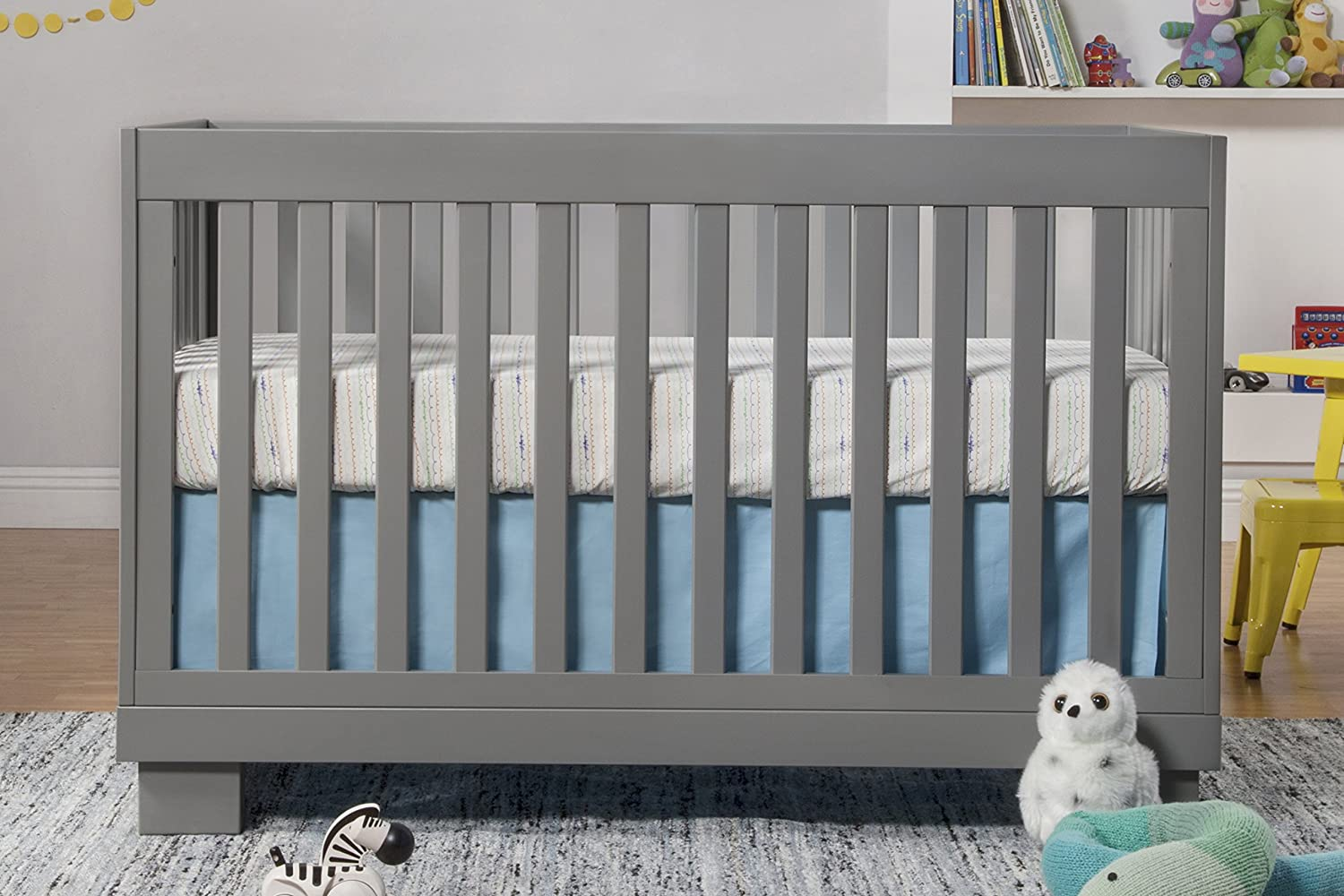 Baby bed hs code - Amazon Com Babyletto Modo 3 In 1 Convertible Crib With Toddler Rail Grey Baby