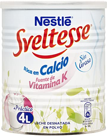 Nestlé - Sveltesse - Leche Desnatada en Polvo - 400 g