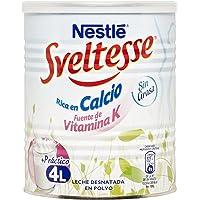 Nestlé Sveltesse - Leche desnatada en Polvo - Bote 12 x 400 g