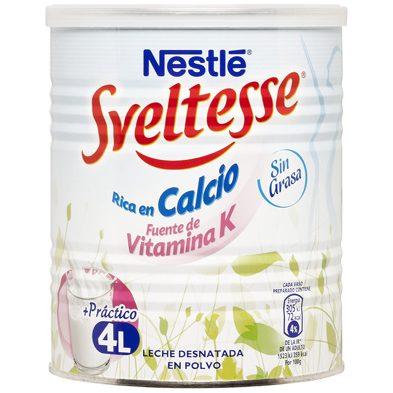 Nestlé Sveltesse Leche desnatada en Polvo - Bote 400 gr