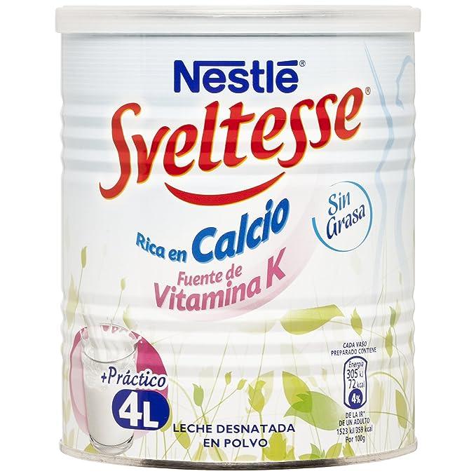Nestlé - Sveltesse - Leche Desnatada en Polvo - 400 g: Amazon.es: Alimentación y bebidas