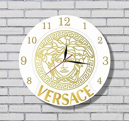 Amazon.com: Versace 11\'\' Handmade Wall Clock - Get unique décor for ...