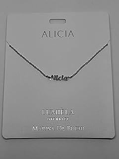 Sterling Effectz Halskette Mit Einhorn Namen Aufschrift Julia