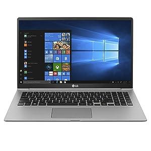 "LG gram Thin & Light Laptop - 15.6"" FHD IPS Touch, 8th Gen Core i7, 16GB RAM, 1TB (2x500GB SSD), 2.5lbs, Up to 16.5 hrs, Thunderbolt 3, Finger Print Reader, Windows 10 Home - 15Z980-R.AAS9U1 (2018)"