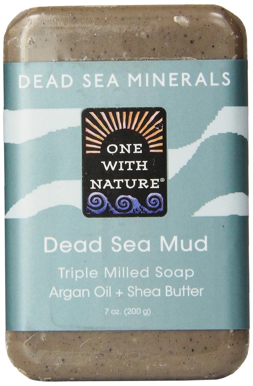 Amazon.com : One With Nature Dead Sea Mud Dead Sea Minerals Soap, 7 ...