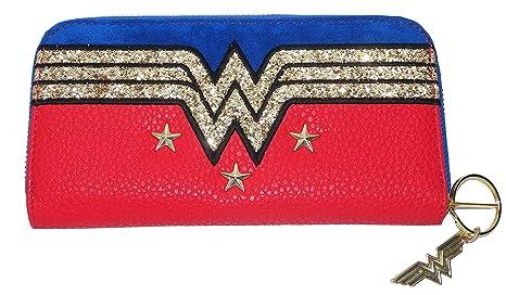 Estrellas de mujer maravilla y el monedero de brillo: Amazon ...