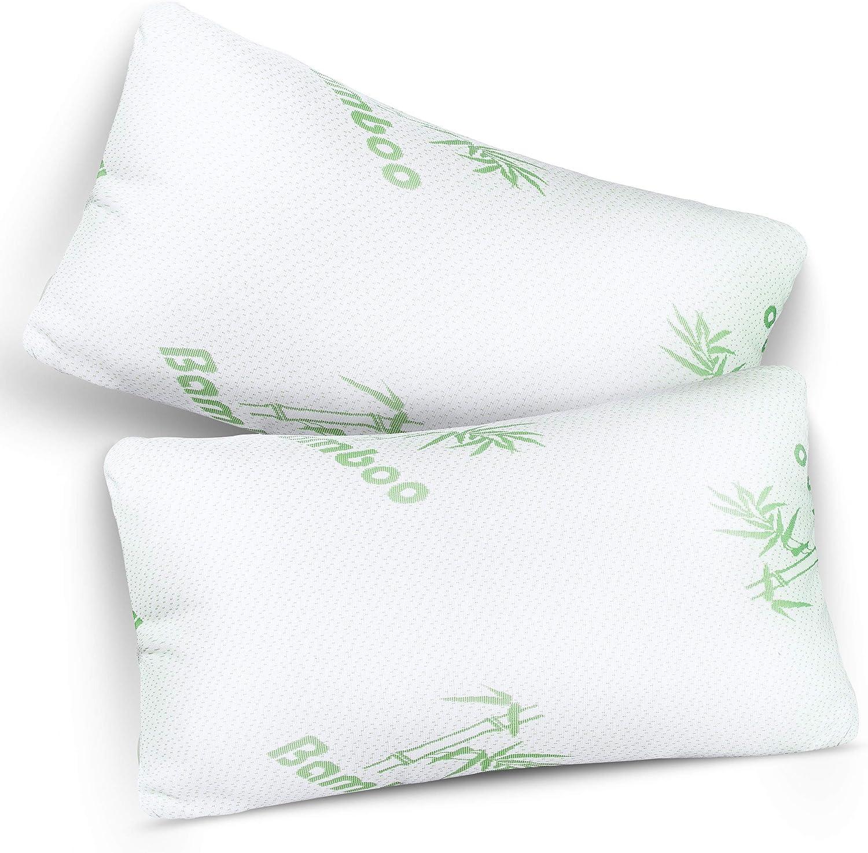 Kensingtons® Bamboo Orthopedic Pillows Anti Bacterial Head Neck Support
