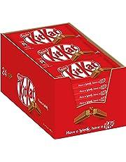 Nestle KitKat Schoko-Riegel, Milch-Schokolade, 24er Pack (24 x 41,5g) großpackung