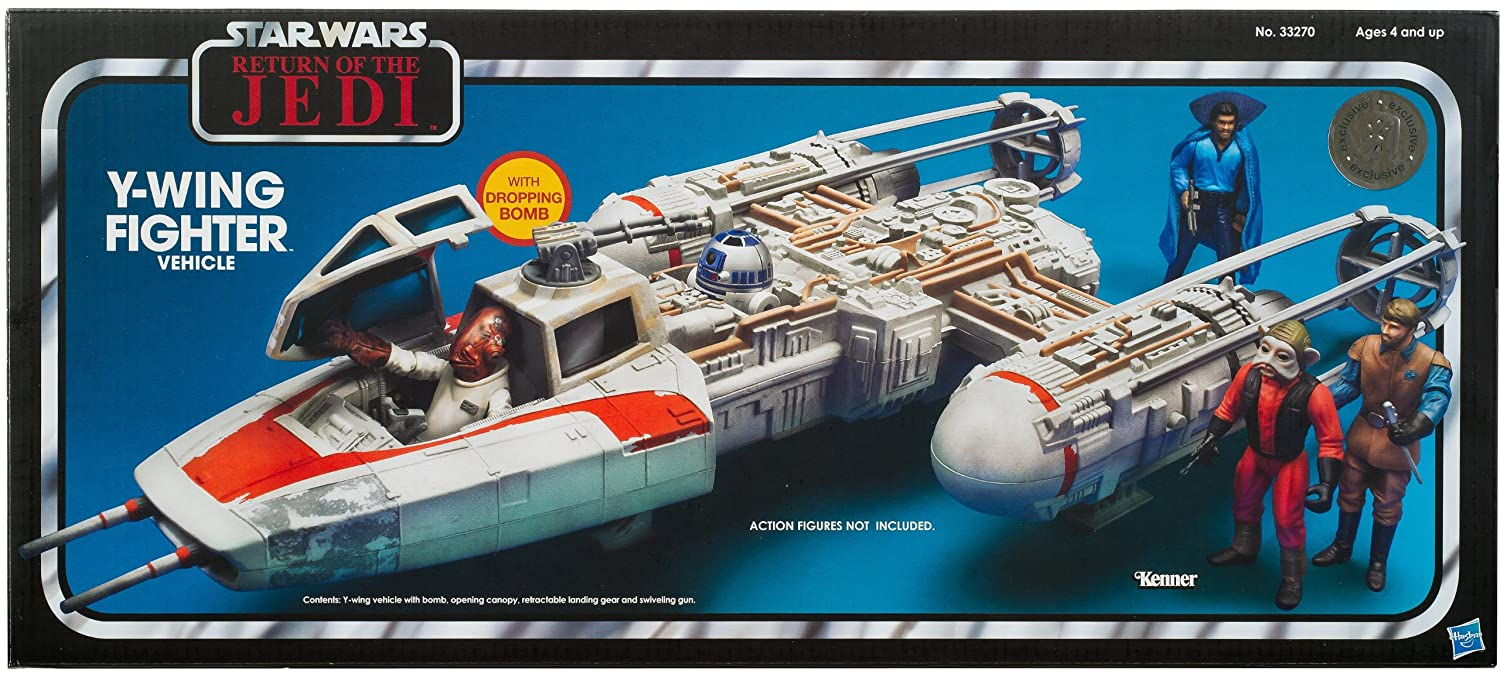 Star Wars Y-Wing Bomber / Y-Wing Fighter