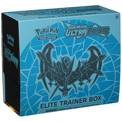 Pokemon TCG: Sun & Moon Ultra Prism Elite Trainer Box Collectible Cards: Toys & Games