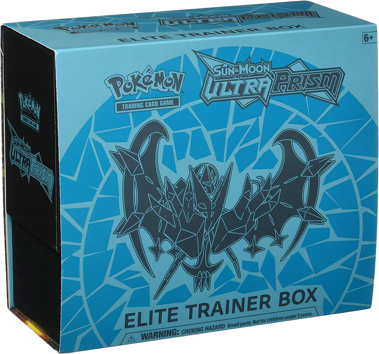 Pokemon TCG Ultra Prism Blue ETB Elite Trainer Box Dice Set