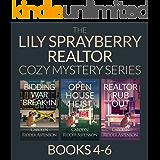 The Lily Sprayberry Cozy Mystery Series Books 4-6 (Lily Sprayberry Realtor Books Book 2)