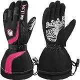 MCTi Ski Gloves Winter Waterproof Touch Screen Thinsulate Nylon Gloves for Women