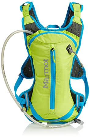Marmot Kompressor Speed Backpack - Green Lime/Atomic Blue, One Size