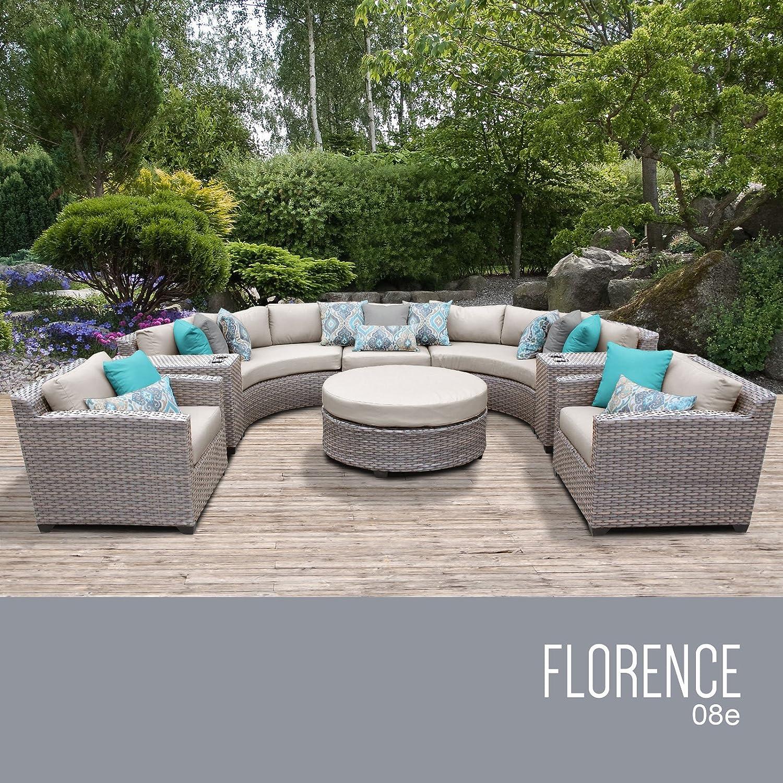 Amazon.com: TK Classics florence-08e 8 piezas muebles de ...