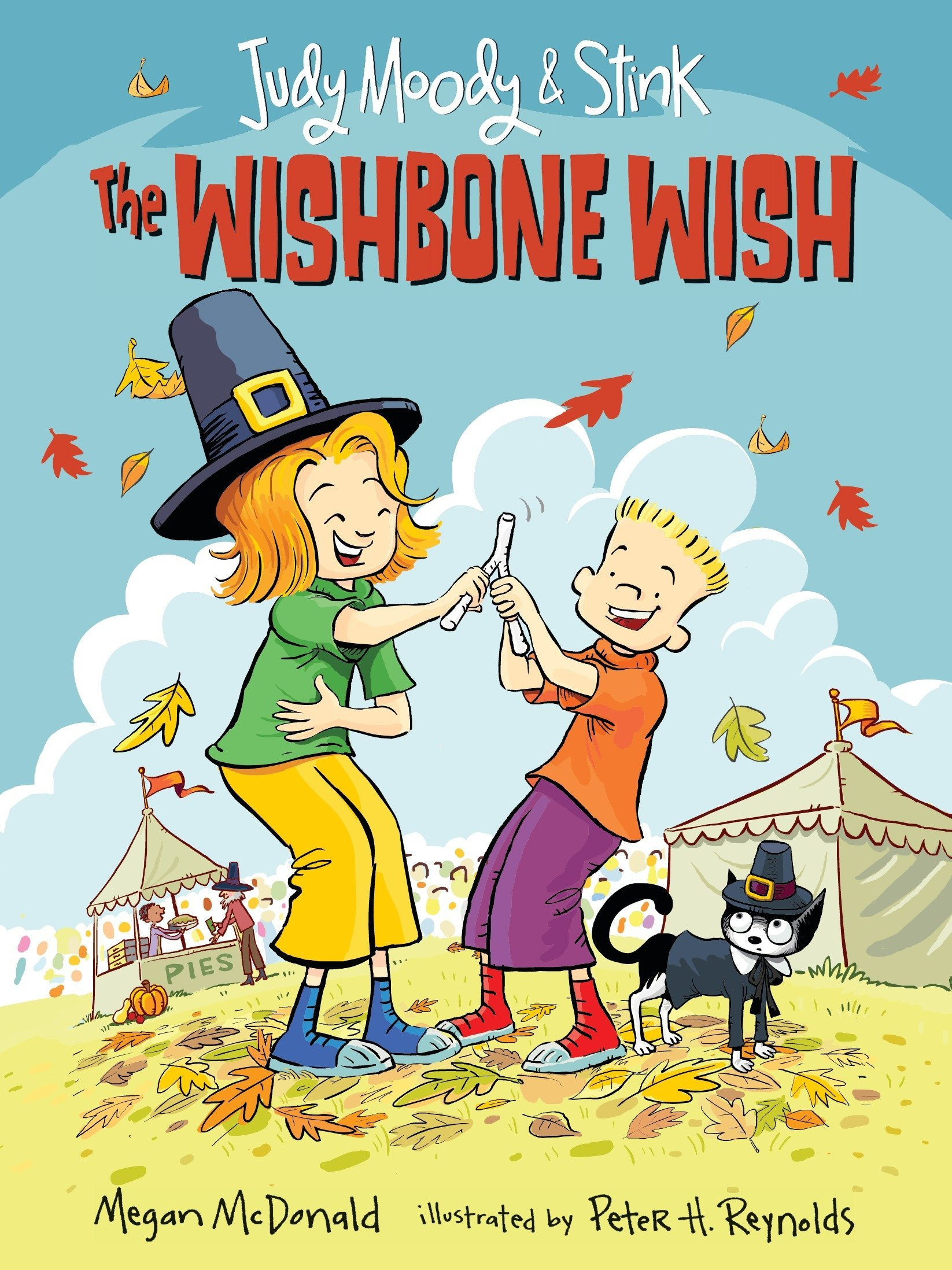 Read Online Judy Moody and Stink: The Wishbone Wish pdf epub