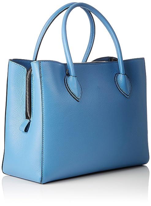 Coccinelle Sac pour femme à porter à l'épaule 12x16x22 cm - Multicolore - Multicolore (Blue_Ocean, Blau 021), 12x16x22 cm