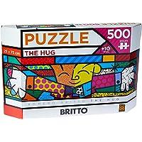 Grow - Panorama Romero Britto The Hug Puzzle 500 Peças, Multicolorido, (Grow 3401)