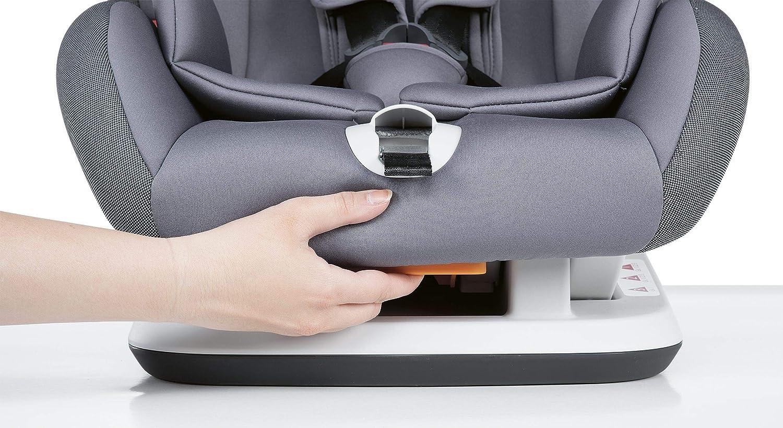 Nero Reclinabile Chicco Youniverse Fix Seggiolino Auto 9-36 kg Gruppo 1//2//3 per Bambini da 1 ai 12 Anni