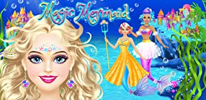 Magic Mermaid - Spa, Makeup and Dress Up Game for Girls from Peachy Games LLC