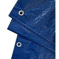 GardenMate® Bâche de Protection à œillets Universal Vert/Bleu 90g/m² - Différentes Tailles