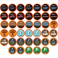Two Rivers Coffee Medium Roast Coffee Pods, Compatible with 2.0 Keurig K-Cup Brewers, Assorted Variety Sampler Pack, 40…