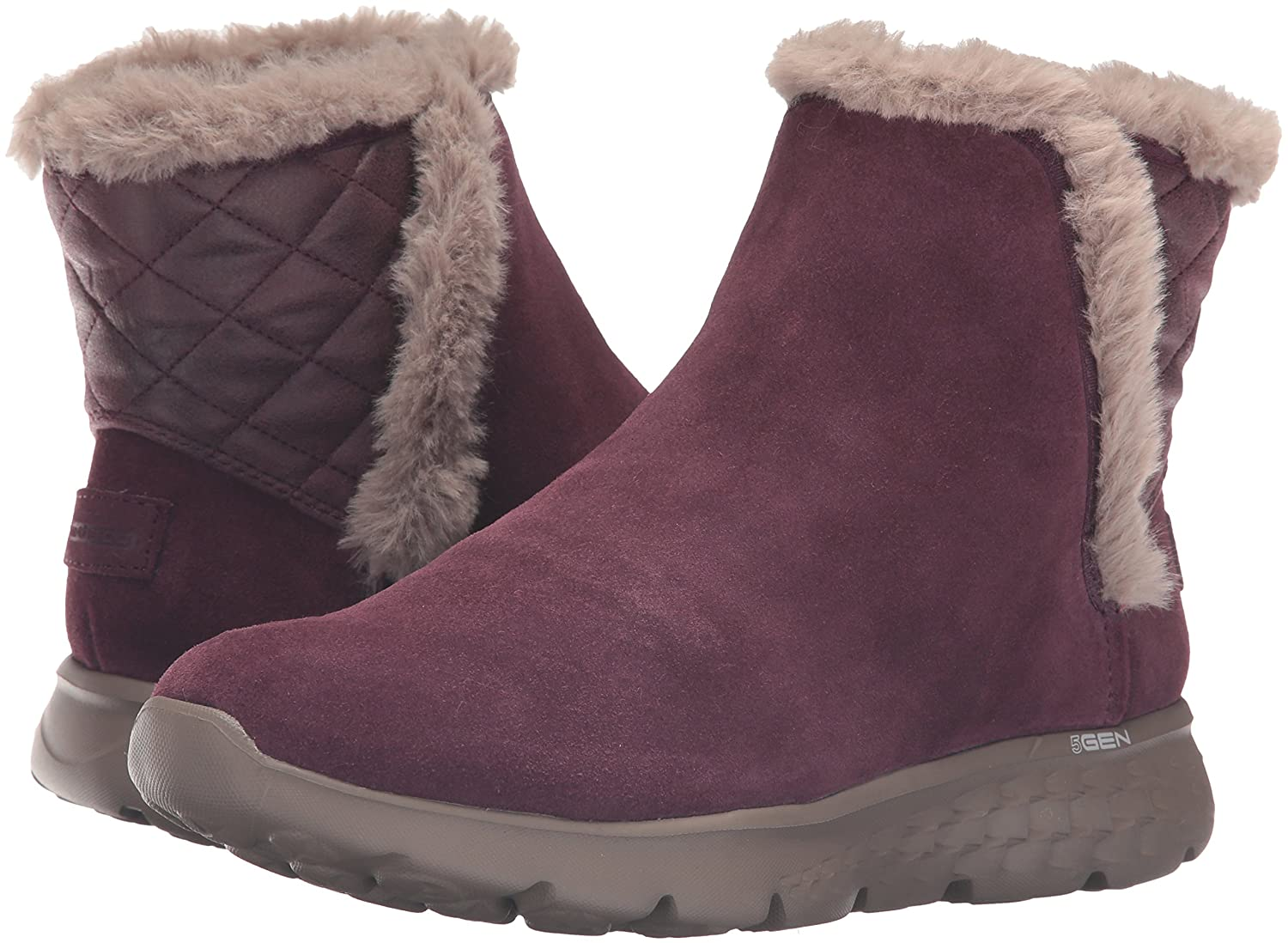 Skechers Performance Women's On The Go 400 Cozies Winter Boot B01B4MQYSY 9.5 B(M) US|Burgundy