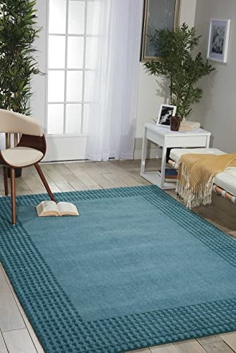 Nourison Ki07 Cottage Grove Ocean Rectangle Area Rug
