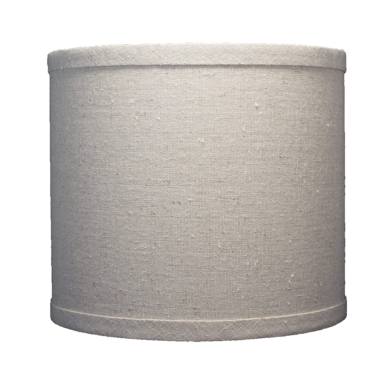 Urbanest Linen Drum Lamp Shade, 8-inch By 8-inch By 7-inch ...